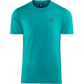 Mountain Equipment Groundup Tee Herre tasman blue